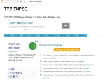 trbtnpsc.com screenshot
