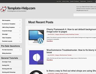 Thumbshot of Template-help.com