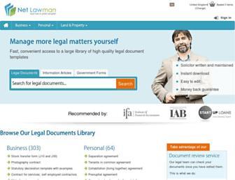 netlawman.co.uk screenshot