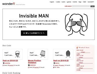 Thumbshot of Wonderfl.net