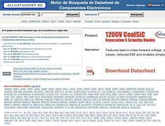 alldatasheet.es screenshot