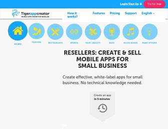 Thumbshot of Tigerappcreator.com