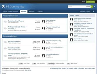 pgmacros.invisionzone.com screenshot