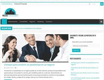 Thumbshot of Mundoadministrativo.net