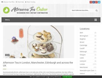 Thumbshot of Afternoonteaonline.co.uk