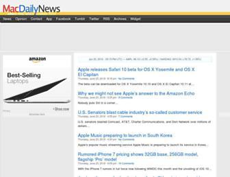 macdailynews.com screenshot