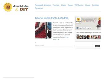 manualidadesdiy.com screenshot