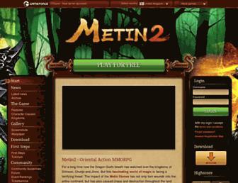 en.metin2.gameforge.com screenshot