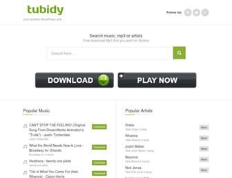 tubidy-mp3.com screenshot