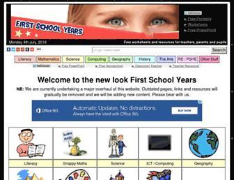Thumbshot of Firstschoolyears.com