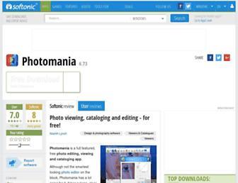 photomania.en.softonic.com screenshot