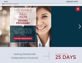 independence.edu screenshot