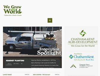 wegrowfortheworld.com screenshot