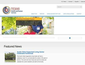 hhs.texas.gov screenshot