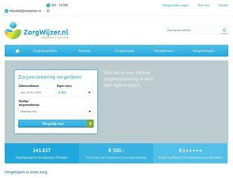 zorgwijzer.nl screenshot