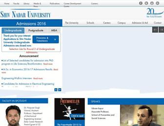 Thumbshot of Snu.edu.in
