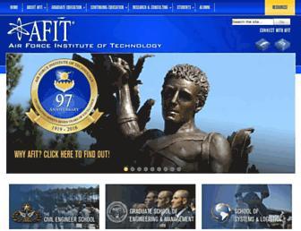 afit.edu screenshot