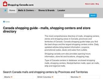 shopping-canada.com screenshot