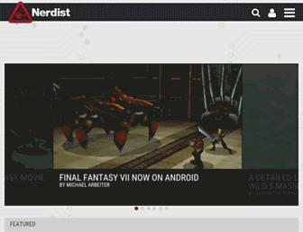 nerdist.com screenshot