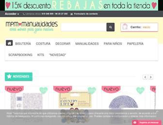 materialparamanualidades.es screenshot