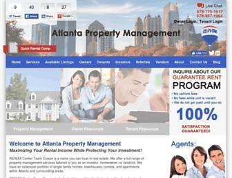 Thumbshot of Atlantapropertymanagement.com
