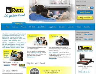 inrent.com.au screenshot