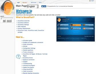 wiki.soundtaxi.info screenshot