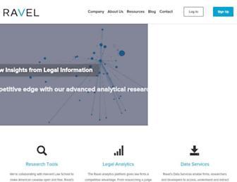 ravellaw.com screenshot