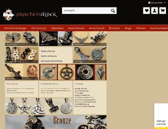 Main page screenshot of drachensilber.de