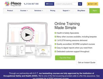 ihasco.co.uk screenshot