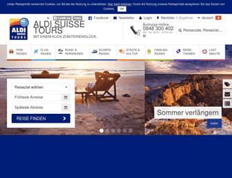 aldi-suisse-tours.ch screenshot