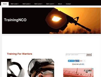 trainingnco.com screenshot