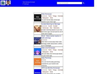 ktastro.com screenshot