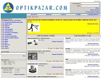 optikpazar.com screenshot