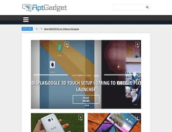 aptgadget.com screenshot