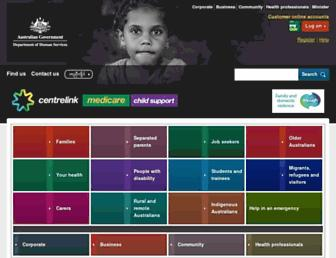 Thumbshot of Humanservices.gov.au