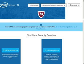 Main page screenshot of webwasher.de
