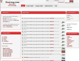 en.root-top.com screenshot