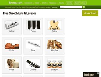 8notes.com screenshot