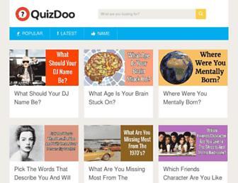 Thumbshot of Quizdoo.com