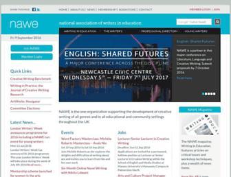 nawe.co.uk screenshot