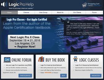 logicprohelp.com screenshot