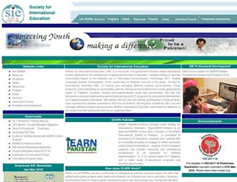 iearnpk.org screenshot