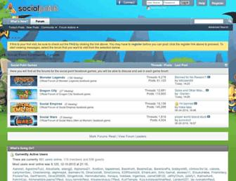 forums.socialpointgames.com screenshot