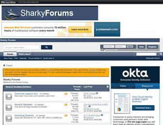 sharkyforums.com screenshot