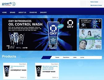 rohto.com.bd screenshot