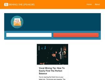 behindthespeakers.com screenshot