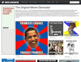 Thumbshot of Memegenerator.net
