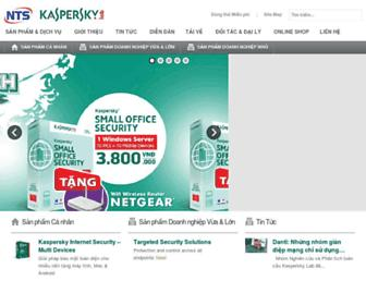 kaspersky.nts.com.vn screenshot