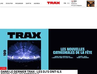 fr.traxmag.com screenshot